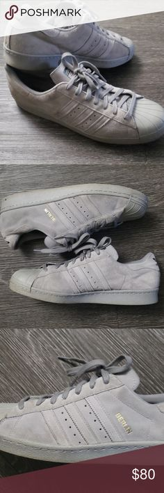 ADIDAS SUPERSTAR 80S Cargo Olive Mens Sz 10 Shell Toes