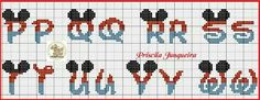 Embroidery Alphabet, C2c, Cross Stitching, Kids Rugs, Disney, Crochet, Lincoln, Cross Stitch Letters, Cross Stitch Alphabet