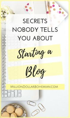 You've probably seen all the 'How To Start A Blog' guides as well as the Income Reports of bloggers making thousands of dollars per month. Most of them have started earning the really big money after 2-3 years and even longer than that. But there are things that not all of them share about blogging. In this blog post I'll tell you all about the 5 Secrets Nobody Tells You Starting A Blog! #BloggingTips #BossBabe #BloggingSecrets #MillionDollarBohemian Make Money Blogging, Make Money Online, How To Make Money, Money Tips, Wordpress For Beginners, Blogging For Beginners, Business Tips, Online Business, Tips Instagram