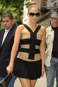 JLO in Herve Leger top Herve Leger, Celebrity Dresses, Jennifer Lopez, Celebs, My Style, Tops, Fashion, Celebrity Gowns, Celebrities