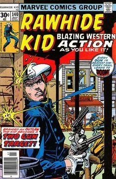 Rawhide Kid 140 1977 cover by Gil Kane