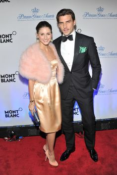 Johannes Huebl Photos Photos - Olivia Palermo and Johannes Huebl attend Princess Grace Awards Gala at Cipriani 42nd Street on November 1, 2011 in New York City. - Princess Grace Awards Gala - Arrivals