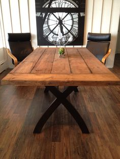Barn Board Table, Maybe One Day For Outside On The Deck.