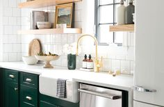In terms of cabinet hardware, you can mix different metals as long as you have a plan of how they go together.
