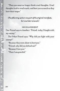 Amity Manifesto (3/3)