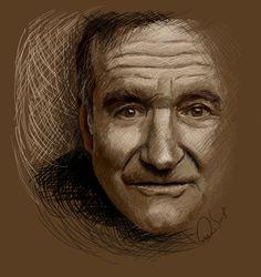 Robin Williams by chucker19 on deviantART
