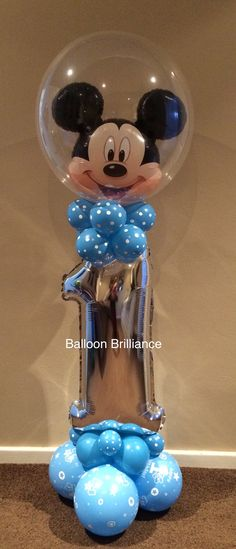 """Mickey"" #1stbirthday #mickeymouse #number1 #balloondeliverycanbera #BalloonBrilliance"