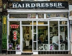 Gents Hairdresser D. Burns