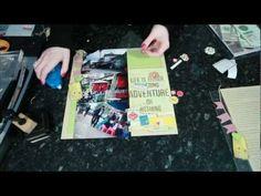 Glitter Girl Adventure 058: Worldly Writing Worries. Scrapbooking a travel journal