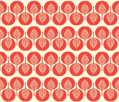 tree_hearts fabric by holli_zollinger on Spoonflower - custom fabric
