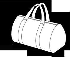 a4a3fd220 Cómo hacer una bolsa de viaje de tela, ideal para el fin de semana