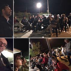 Todi, 23 maggio 2017. Molte persone a Casemasce per Floriano Pizzichini Sindaco (presente Claudio Ricci). Complimenti a tutti. Sarete un grande gruppo di amministratori per il Comune di Todi.