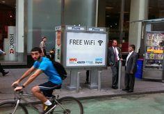 Cabinas telefonicas se convertiran a puntos Wi-Fi gratuitos en Nueva York