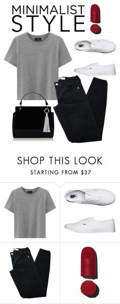 """M I N I M A L I S T  S T Y L E"" by maricarmen123 on Polyvore featuring Vans and Brandy Melville"