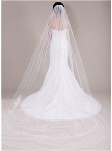 Cathedral Train Long Wedding Veil