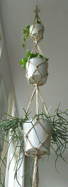3 etages plantenhanger