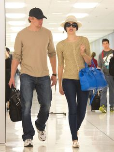 Emmy Rossum arrives at LAX Airport, May 2013.