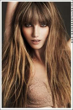 Light Brown with Dark Blond Highlights.  yes i should do that :)