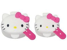 moca: With Hello Kitty mayonnaise ketchup case big things and small things two set spoon - Purchase now to accumulate reedemable points! Japanese Bento Box, Cute Japanese, Hello Kitty, Ketchup, Bento And Co, Condiment Holder, Childrens Meals, Plastic Design, Kawaii