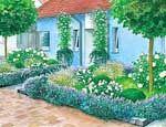 Ländliche Gartenzäune - Mein schöner Garten