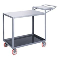 Order Picking Truck, Flush, 32x18, Gray by Little Giant. $317.56. Order Picking Truck, Flush Shelves, Load Capacity 1200 lb., Welded Steel Construction, Gauge Thickness 12, Powder Coat Finish, Color Gray, Overall Length 48 In., Overall Width 18 In., Overall Height 39 In., Number of Shelves 2, Caster Size 5 In., Caster Type 2 Rigid, 2 Swivel With Brake, Caster Material Polyurethane, Capacity per Shelf 600 lb., Distance Between Shelves 25 In., Shelf Length 32 In., ...
