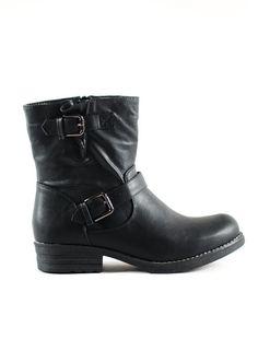 ΜΠΟΤΑΚΙ MAΥΡΟ Bellisima, Biker, Boutique, Boots, Fashion, Crotch Boots, Moda, Fashion Styles, Shoe Boot
