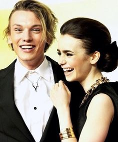 Jamily :) aka jace and clary from the mortal instruments city of bones