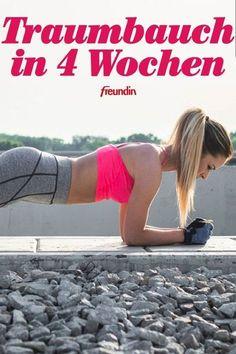 Traumbauch in 4 Wochen: Das Sexy-Bauch-Programm. Schlank, flach und definiert … – Keep up with the times. Fitness Workouts, Yoga Fitness, 30 Day Fitness, Physical Fitness, Fun Workouts, At Home Workouts, Mens Fitness, Stomach Workouts, Lifting Workouts