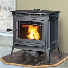30 best pellet stoves images on pinterest pellet stove wood manchester pellet stove by hearthstone comes in either black matte pictured or brown majolica fandeluxe Gallery