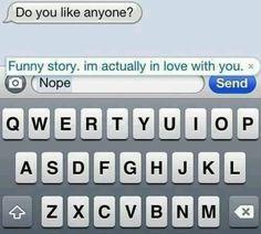 should i tell him how i feel through text