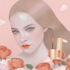 New illustrations for @lorealparisofficial by @hsiaoroncheng…