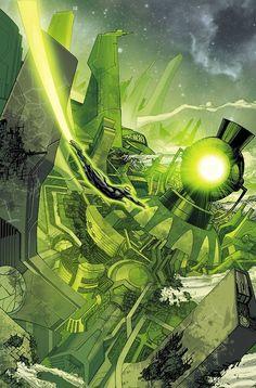 Green Lantern Corps Colors: Marcelo Maiolo Art: Bernard Chang
