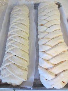Braided Pizza Calzones