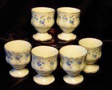 Royal Albert England ~ Memory Lane ~ Egg Cups x 6