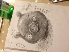 Angry pig!