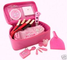 Pink Car Kit Travel Accessories - Pink Girly Gift in Vehicle Parts & Accessories, Car Accessories, Other Car Accessories Luxury Sports Cars, Luxury Auto, Sport Cars, Car Accessories For Girls, Jeep Accessories, Kit Cars, Car Kits, Hello Kitty, Pink Truck