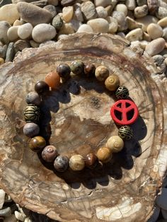 Excited to share this item from my #etsy shop: Peace Sign Bracelet. Womens Bracelet/Gift for her/BOHO Bracelet. Boho Chic. Good Vibes. Hippie. Stacking #yellow #no #unisexadults #bohohippie #redbracelet #hippiejewelry #bohochic #festivaljewelry #peacesign #hippiejewelry #woodstock #peacejewelry #peacesignjewelry Hippie Jewelry, Hippie Boho, Bohemian, Woodstock, Boho Chic, Gifts For Her, Peace, Etsy Shop, Sign