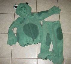 2 PC Old Navy Puffy Fleece Green Frog Halloween Costume Toddler Boys Girls Toddler Boy Halloween Costumes, Diy Halloween, Frog Costume, Green Frog, Diy Costumes, Toddler Boys, Alice In Wonderland, Boy Or Girl, Sewing Crafts