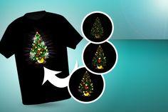 LED Christmas T-Shirts