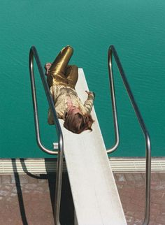 gertrud hegelund by theo wenner for self service, f/w 2011 #boldgold #Gold…