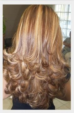 Im doing this today with a little more blonde highlights and a little less dramatic layers. I hope I do not freak out.