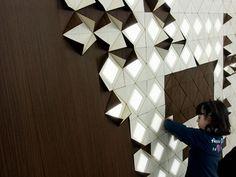 Lampada Origami Di Edward Chew : Best origami images house ideas lamp shades