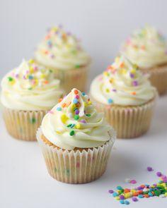 Objetivo: Cupcake Perfecto.: ¿Aún queda alguien en Madrid? (Confeti cupcakes)