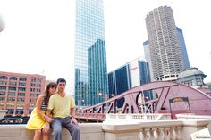 Chicago Engagement Photo - www.ChristopherFPhotography.com -For the Love of Chicago and Photography!
