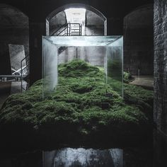 rasmus hjortshøj photographs hiroshi sambuichi's cisternerne installation