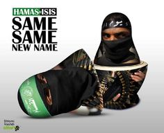 Hamas and Isis are the same