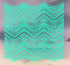 geometric chevrons by Karina Manarin. Pattern a day. http://patternaday2012.tumblr.com/ #patterns #chevrons #art