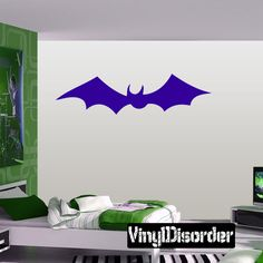 Bat Wall Decal - Vinyl Decal - Car Decal - DC059 | Car decal Bats and Wall decals & Bat Wall Decal - Vinyl Decal - Car Decal - DC059 | Car decal Bats ...