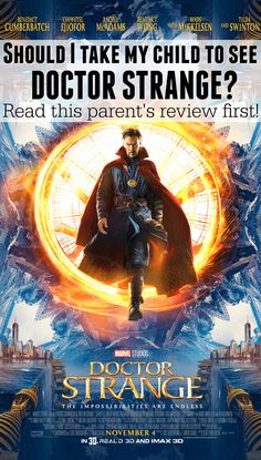 DOCTOR STRANGE: A Parent Review   #DoctorStrangeEvent