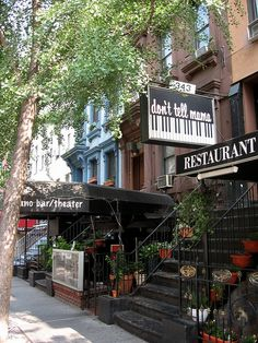 Don't Tell Mama Piano Bar-343 W 46th Street New York NY 10036, between 8th & 9th Avenues - The most fun bar ever!!!